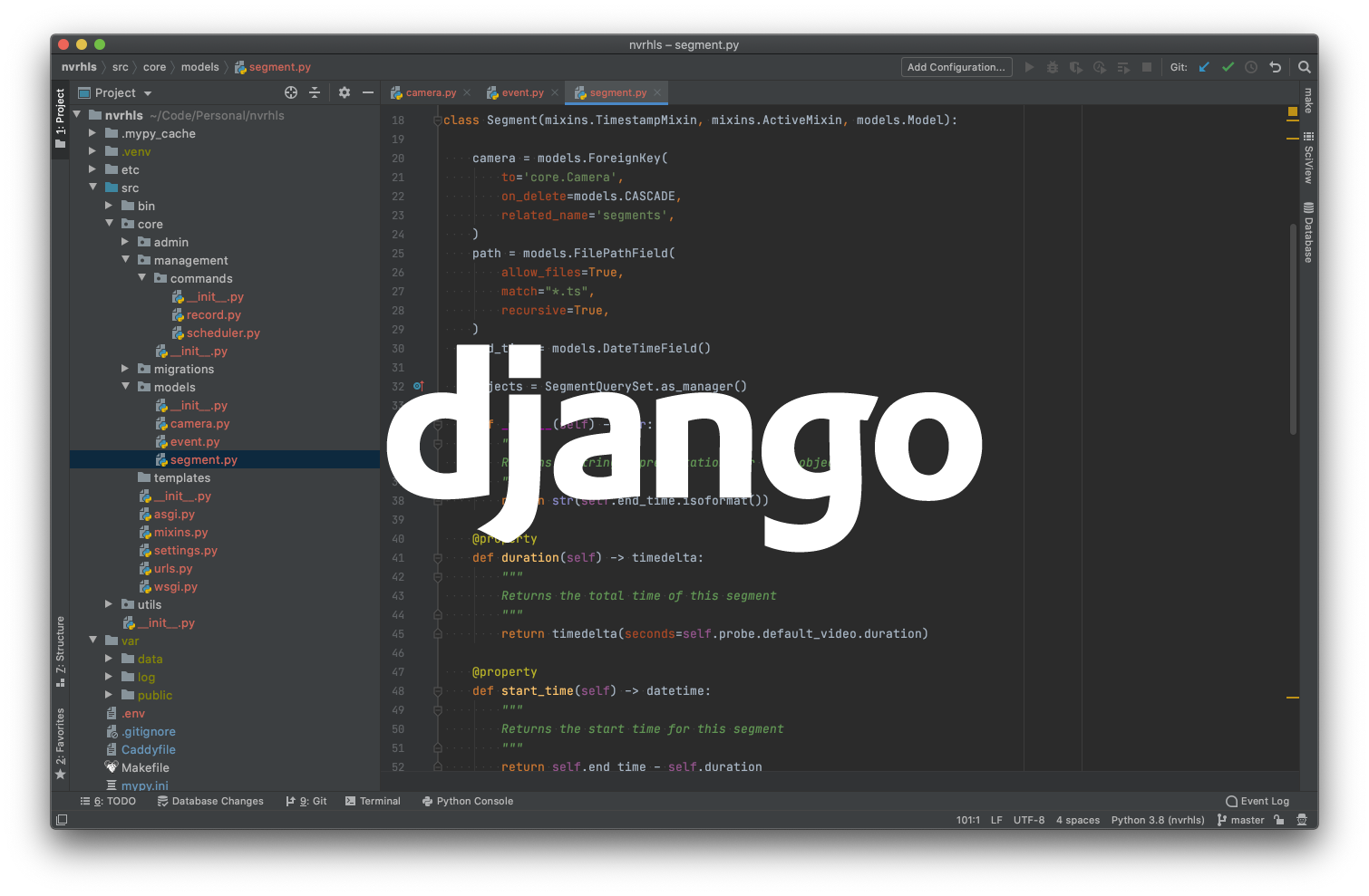 Django source code